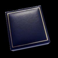Blue Jewellery Box - Measures: 10 x 10 x 3.3cm - 3.9 x 3.9 x 1.3″