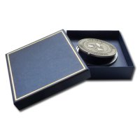 Gifts - The Paperweight Box in its Blue Gift Box