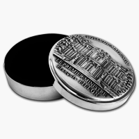 Gifts - The Round Box inside coated with black velvet