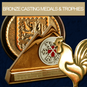 FIA - Bronze Casting Medals & Trophies Creation, Edition and Manufacturing.