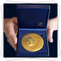 FIA - Offering a Custom Artistic Medal
