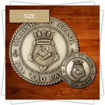 FIA - Different Sizes of Medals