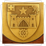 Customized Medals - Relief - 2D Shield