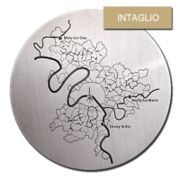 Customized Medals - Relief - Intaglio or Sunken Relief