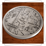 Customized Medals - Relief - Intaglio Medal