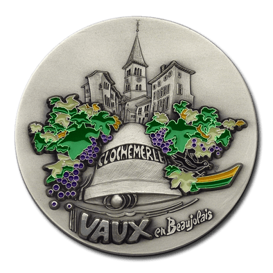 Colours for medals - Customized medal with color - Fia Medals