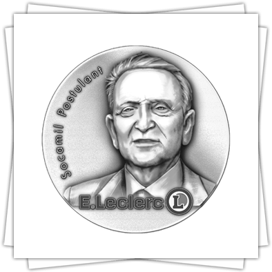 FIA Stamped Customized Medal Artwork