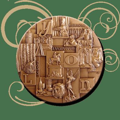 FIA Stamped Medal