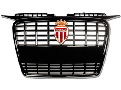 01631 - Car-Emblem-Fixed-on-a-Radiator-Grill