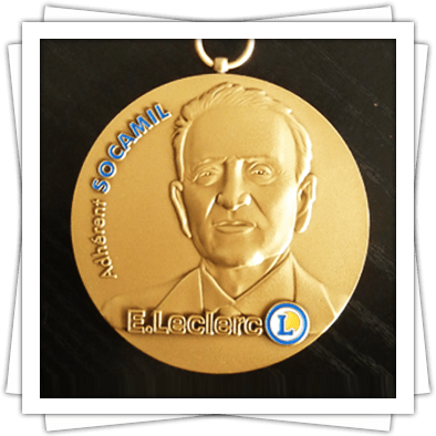 FIA The Stamped Customized Medal
